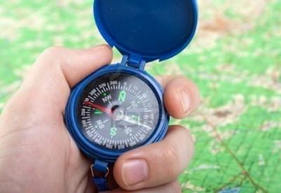 як користувати ся компасом