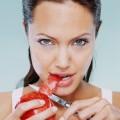 їсти з ножа