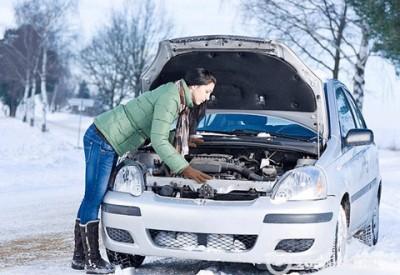 як завести авто взимку