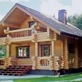 будинок з дерева
