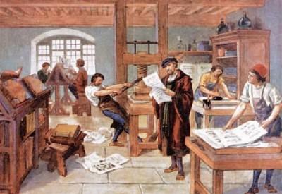 Історія книгодрукування