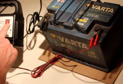 як зарядити акумулятор