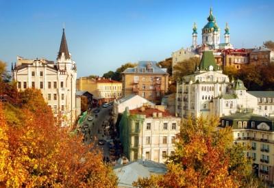 осінній Київ