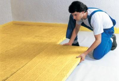 як утеплити бетонну підлогу