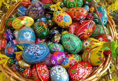 Як пофарбувати яйця 8