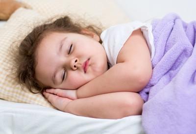 child girl sleeping