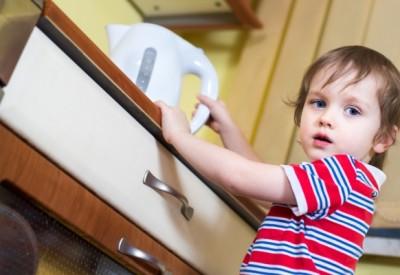 Перша допомога дитині при опіку