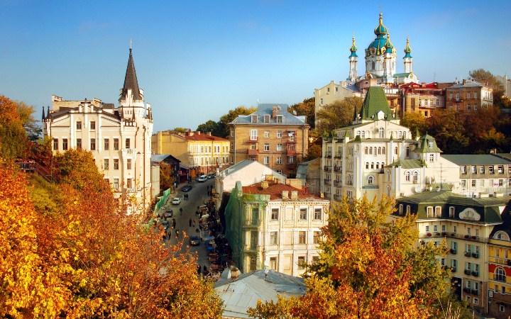10 найкрасивіших осінніх місць Києва.