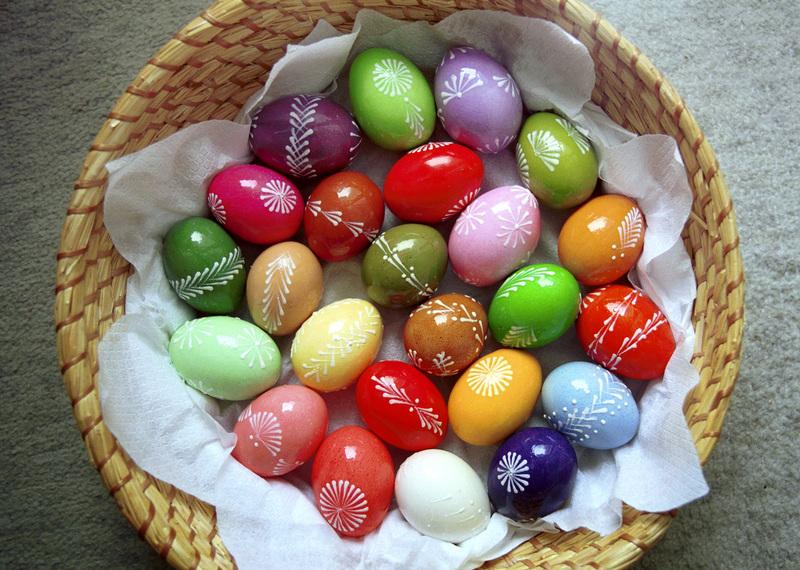 Як пофарбувати яйця 5