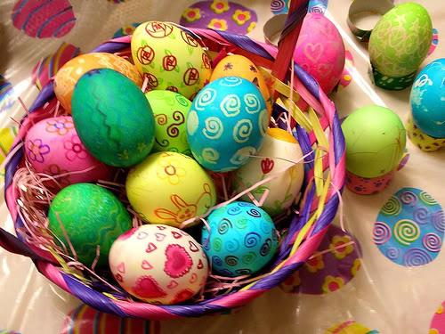 Як пофарбувати яйця 7
