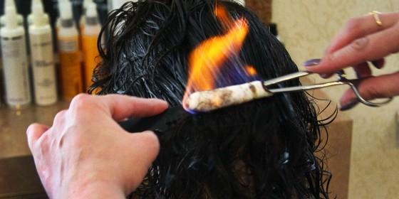 Стрижка вогнем 2