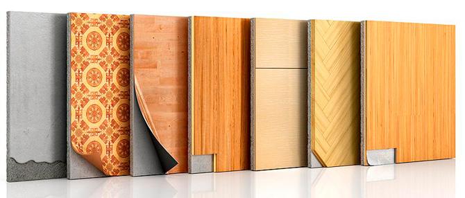 Види покриття для підлоги