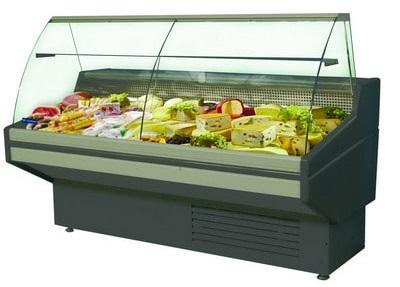 Види холодильного обладнання для магазину: вітрини, шафи, регали